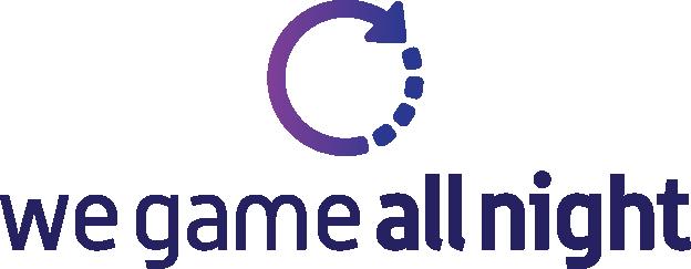We Game All Night Logo, wegameallnight.com