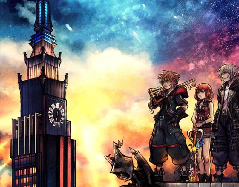 Kingdom Hearts 3 (Xbox One), We Game All Night, wegameallnight.com