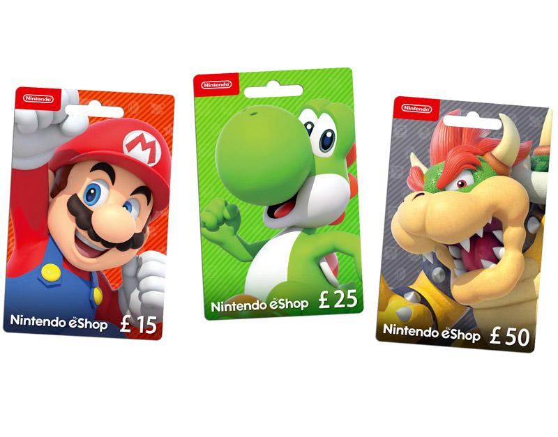 Nintendo eShop Gift Card, We Game All Night, wegameallnight.com