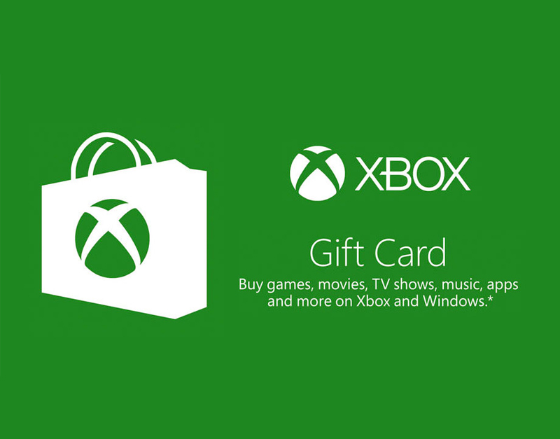 Xbox Live Gift Card, We Game All Night, wegameallnight.com