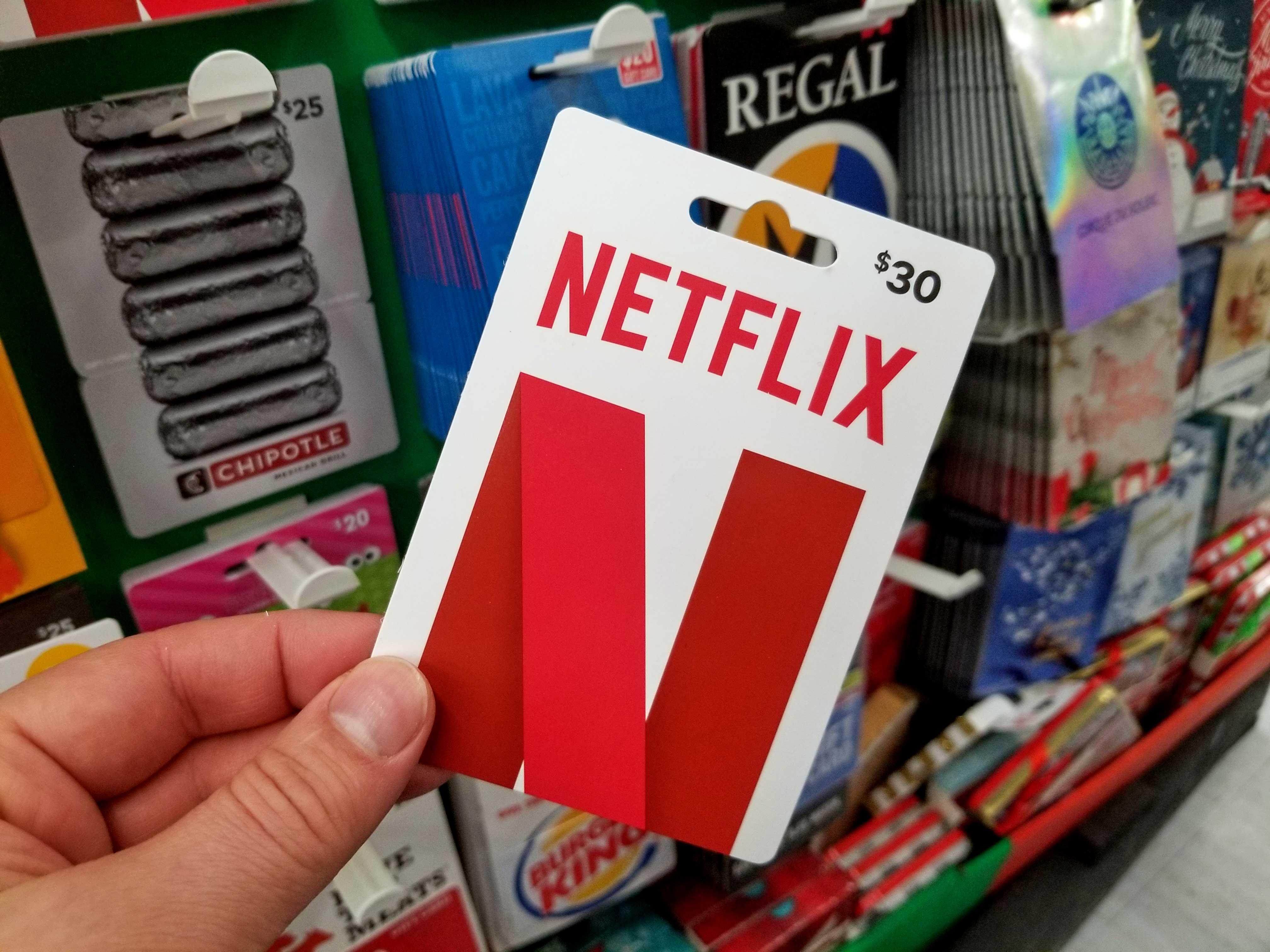 netflix-gift-card, We Game All Night, wegameallnight.com